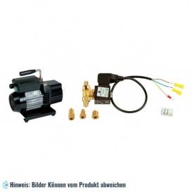 KIT WIGAM RS3DE/V: Vakuumpumpe, zweistufig WIGAM RS3D, Set mit Magnetventil und Kabel Anschluss 1/4-3/8-5/16SAE M WIGAM K-EVC +