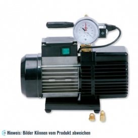 Vakuumpumpe mit Magnetventil und Vakuummeter WIGAM RS9DE/V, 180 l/min