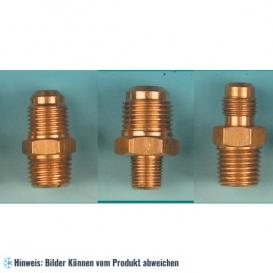 Set aus zweistufige Vakuumpumpe Wigam RS3D, 46 l/min und 3 Adaptern