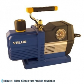 More about 2-stufige Vakuumpumpe VRP-6DV, 170 l/min mit Magnetventil, Vakuummeter für R32, R1234yf, R410A, R134a