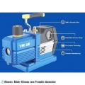 2-stufige Vakuumpumpe VRP-6DV, 170 l/min mit Magnetventil, Vakuummeter für R32, R1234yf, R410A, R134a
