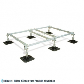 Rahmenkonstruktion 4-Einheit - 2000x1500 mm, 305 mm Fuss, H=360 mm
