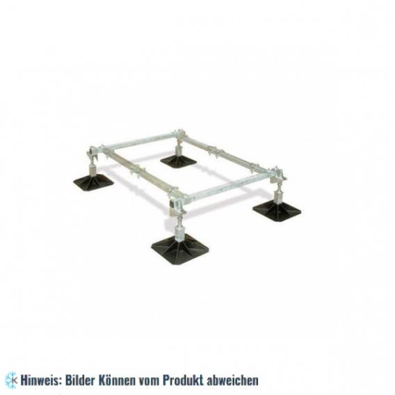 Rahmenkonstruktion 2-Einheit - 1000x1500 mm, 305 mm Fuss, H=360 mm